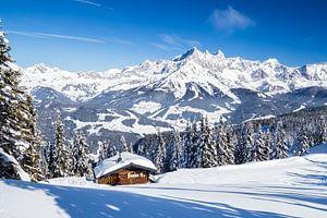 """Winterlicher Berglandschaft """"Ein sonniges Platzerl"""""""