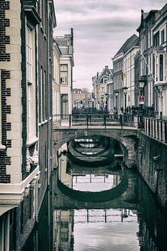 De Drift in Utrecht met zijn vele bruggen. (1) van