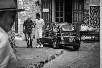 Fiat 500 in Italien von Marleen Kuijpers