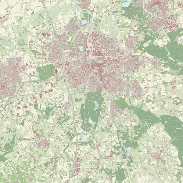 Kaart vanBreda van Rebel Ontwerp