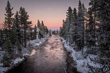 Winterlucht. van Marco Lodder
