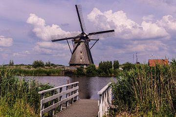 Windmolens aan de Kinderdijk.