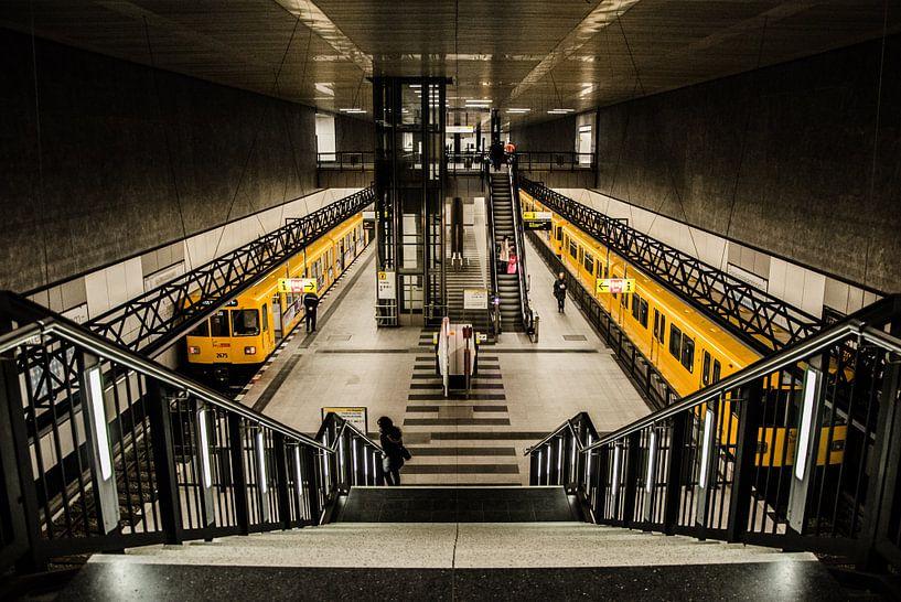 Metrolijnen van Emil Golshani