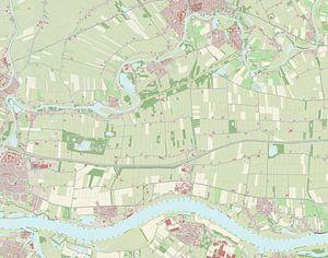 Kaart vanLingewaal