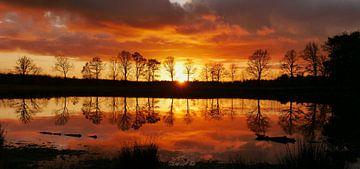 Sonnenuntergang, Mandefjild von Wim vd Neut
