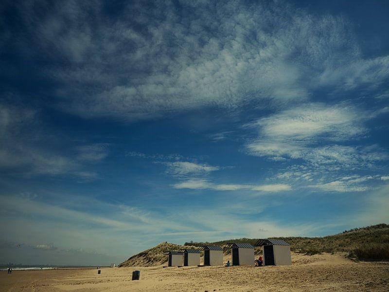 Beach houses van Lex Schulte