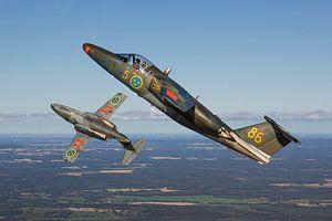 Zweedse Luchtmacht Saab Sk60s van