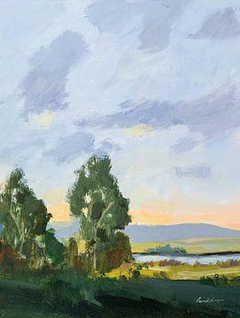 Avond skies II, Pamela Munger van Wild Apple