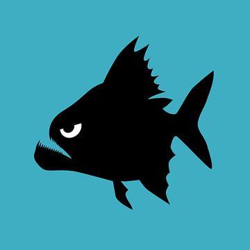 Wütende Tiere - Piranha von > VrijFormaat <