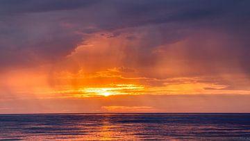 Zon en Regen, Usedom, Duitsland van Adelheid Smitt