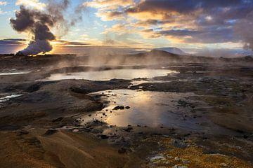 Magische morgen in IJsland van Mds foto