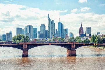 Frankfurt aan de rivier van Manjik Pictures