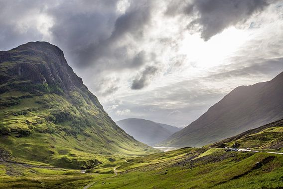 Schottische Landschaft (Glencoe)