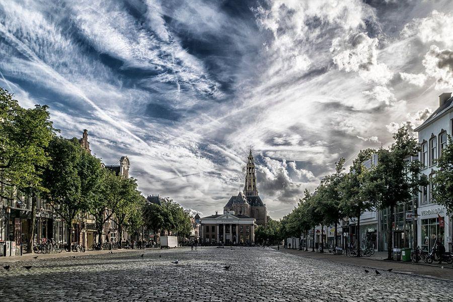 Vismarkt Groningen van Harry Stok