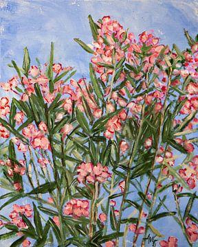 Oleander van Antonie van Gelder Beeldend kunstenaar