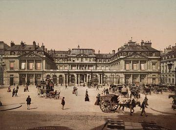 Palais Royal, Paris van Vintage Afbeeldingen