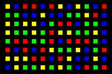Nested | Center | 12x08 | N=01 | Random #05 | RGBY van Gerhard Haberern