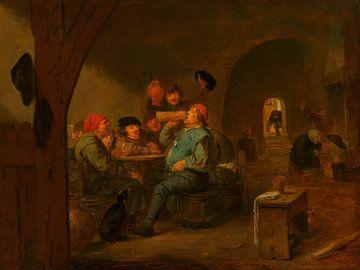 Der Meistertrunk, Adriaen Brouwer