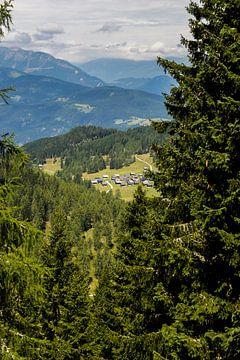Oostenrijkse zomer landschap van Remco de Zwijger