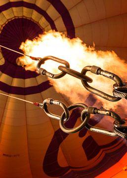 Vuur in de Luchtballon van Sran Vld Fotografie