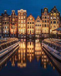 Avond in Amsterdam van Jeroen Linnenkamp