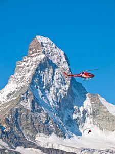 Air Zermatt en de Matterhorn, Zwitserland