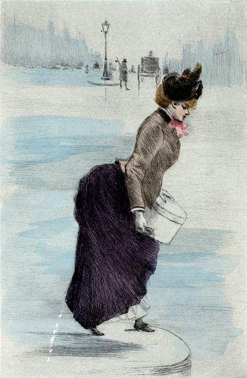 Mode 1883, Mode in het negentiende-eeuwse Parijs, Henri Boutet, (1851 1919) van Liszt Collection