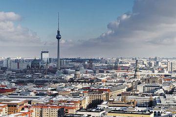 La ville de Berlin vue en hiver sur Ralf Lehmann