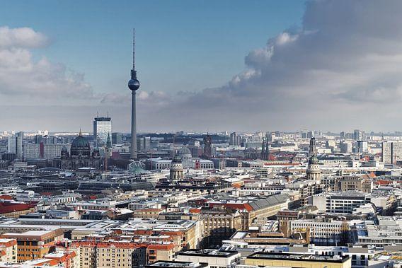 Berlin Cityblick im Winter