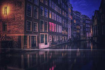 Amsterdam bei Nacht von Claudia De Vries