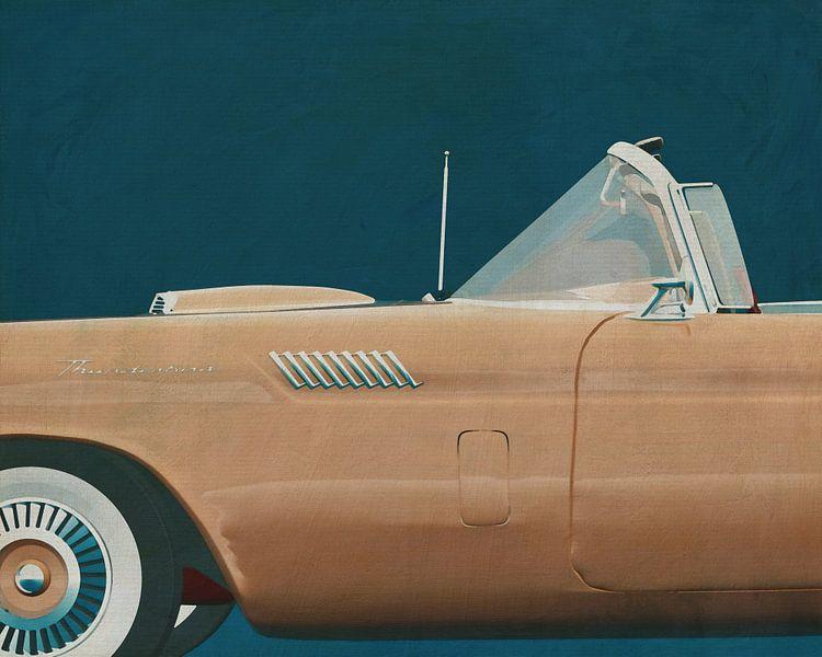 Ford Thunderbird van Jan Keteleer