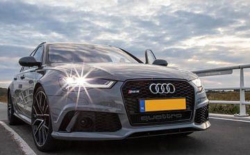 Audi RS6.  Performance: beest met 605 pk van Ton Tolboom