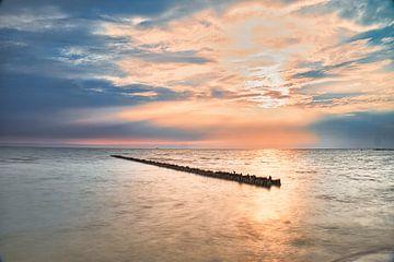 zonsondergang bij hindeloopen