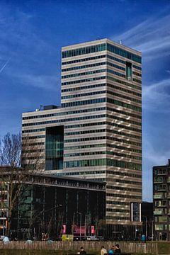 Mooie highrise gebouwen in amsterdam business park von foto-fantasie foto-fantasie