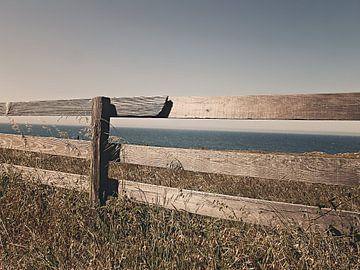 Hek aan zee van Judith Robben