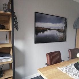Photo de nos clients: Les côtes levées météo sur Pierre Verhoeven, sur toile