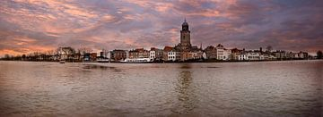 Panorama foto, Stadsgezicht van Deventer van Henk Hulshof