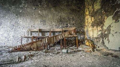 Wachthoekje tandkliniek Pripyat