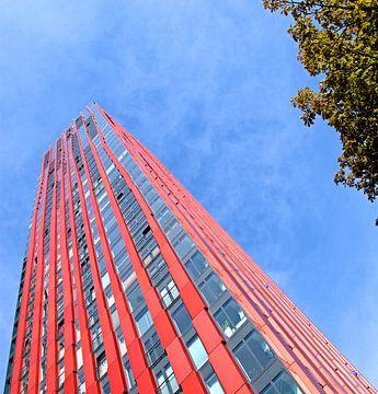 Red Apple Woontoren Rotterdam sur Artstudio1622