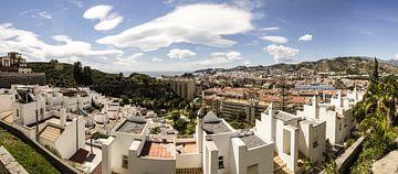 Panorama van Almunécar van René Weijers