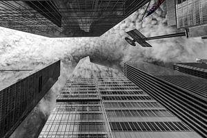 Wolkenkratzer am Bryant Park   New York van