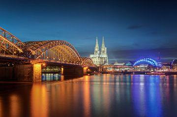 Night in Cologne van