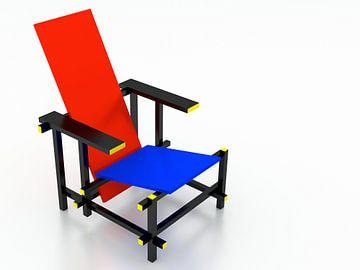 Rietveld Stuhl von Jan Brons