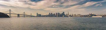 San Francisco - Skyline-Panorama von Toon van den Einde