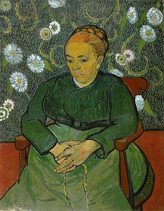 Vincent van Gogh. La berceuse (Portret van Madame Roulin)