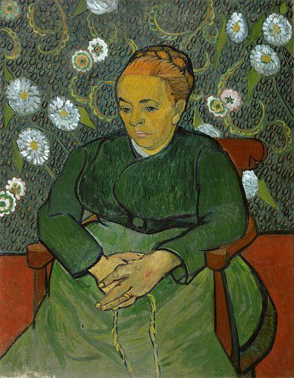 Vincent van Gogh. La berceuse (Portret van Madame Roulin) van 1000 Schilderijen