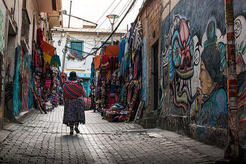 Bolivia straatbeeld