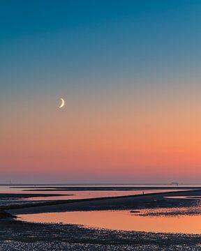 Sonnenuntergang Terschelling von Henk Meijer Photography