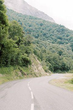 Col de Rousset | Route durch die Berge in Südfrankreich | Wanderlust Reisefotografie Wandkunst von Milou van Ham