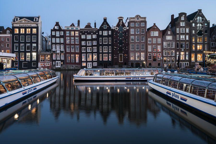 Amsterdam harbour van Scott McQuaide